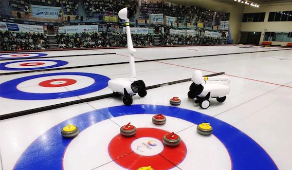 Déjà victorieuse au jeu de Go et aux échecs, l'IA devient championne de curling