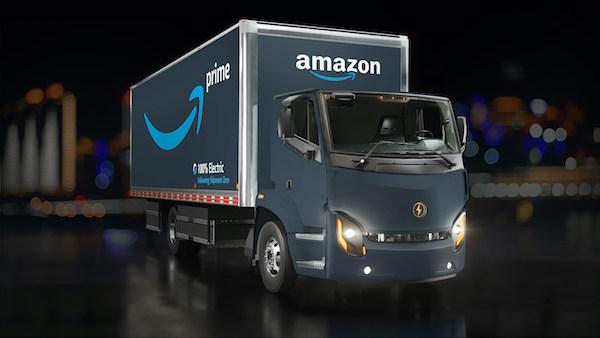 Lion Électrique livrera 10 camions électriques à Amazon avant la fin 2020