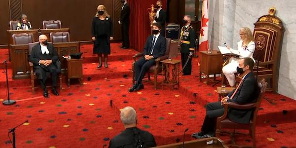 Discours du Trône: Ottawa veut un pays plus résilient et des citoyens mieux protégés