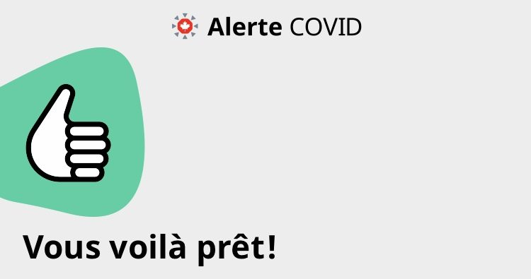 L'application Alerte COVID fonctionne maintenant au Québec