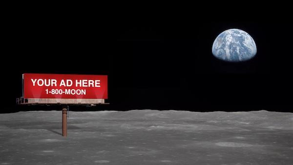 La NASA ouvre le marché de l'espace aux marques qui veulent faire un coup de pub extraterrestre
