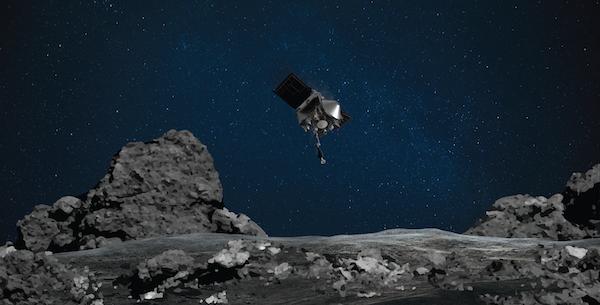La NASA n'aurait pas pu récolter un échantillon d'astéroïde sans cette technologie canadienne