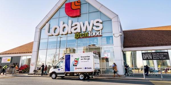 Loblaw: après la marque sans nom, la livraison sans conducteur