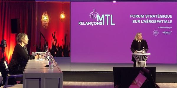 La ministre Mélanie Joly demeure évasive sur un éventuel soutien ciblé à l'industrie aéronautique québécoise
