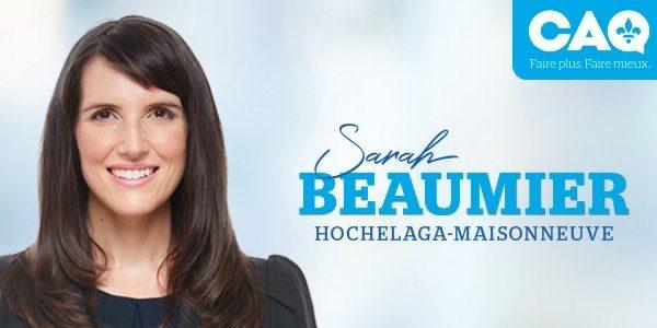 Sarah Beaumier est la nouvelle présidente de la CAQ