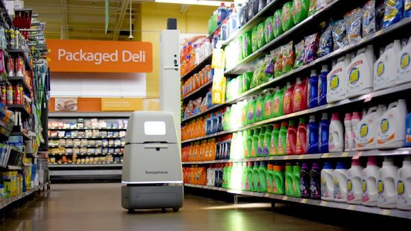 Walmart abandonne finalement l'idée de confier l'inventaire de ses magasins à des robots