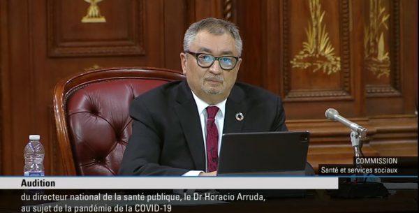 Le Dr Arruda parle des avantages «surestimés» du passeport vaccinal et de son «inconfort» face aux déclarations de Roberge sur les tests dans les écoles