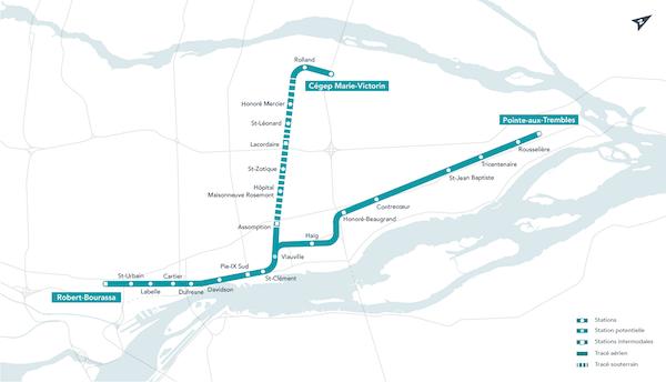 La firme montréalaise Lemay reprend le mandat d'architecture du projet de REM de l'Est au centre-ville de Montréal