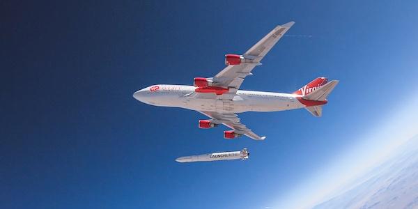 Virgin Orbit a lancé sa première fusée dans l'espace à partir d'un Boeing 747 en vol