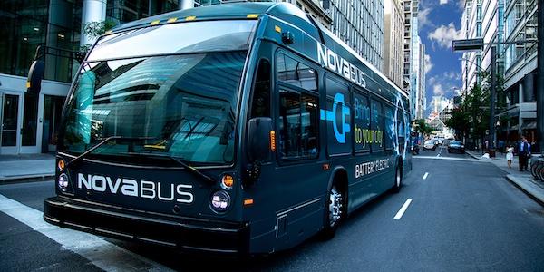 Ottawa accorde une subvention de 15 millions $ au fabricant d'autobus électriques NovaBus