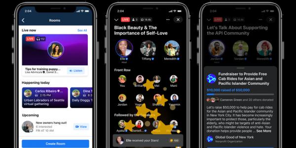 Facebook investit l'audio, avec une série de nouveaux produits intégrés à ses applications actuelles