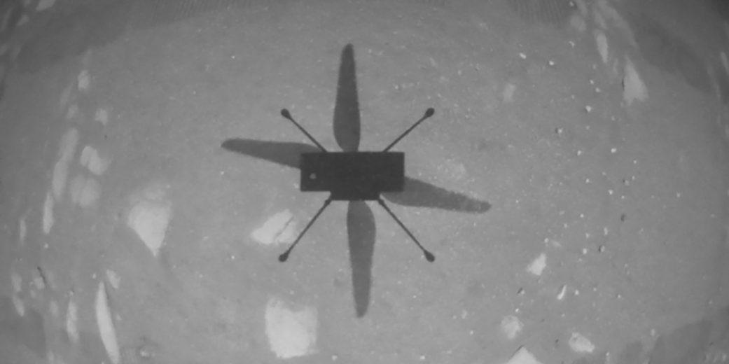 L'hélicoptère Ingenuity a fait son premier vol sur Mars