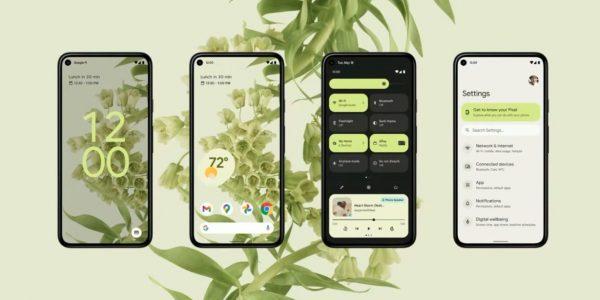 Google se met à jour avec Android 12
