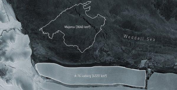 Le plus gros iceberg du monde s'est détaché de l'Antarctique