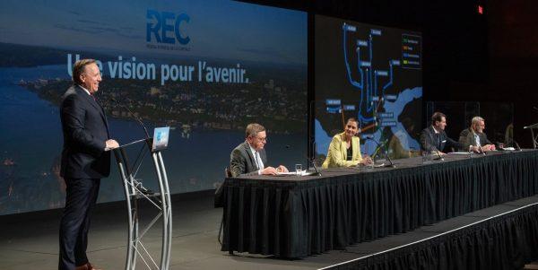 Québec prévoit 7 milliards $ pour construire le tunnel entre Québec et Lévis