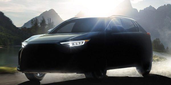 Subaru dévoile (un peu) son premier véhicule électrique, le Solterra