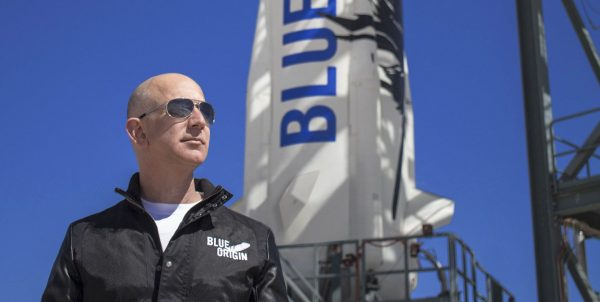 28 millions $ pour un vol de 11 minutes dans l'espace avec Jeff Bezos