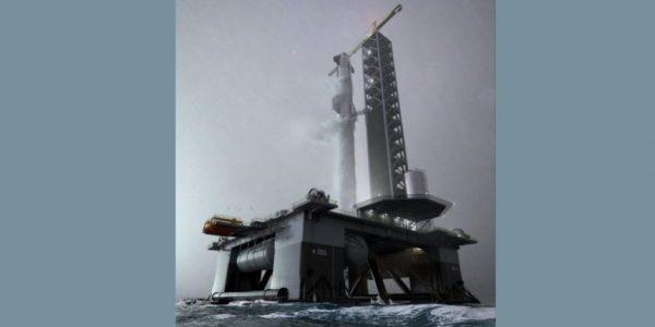 SpaceX pourrait lancer des fusées depuis un spatioport océanique dès l'année prochaine