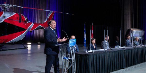 Québec et Ottawa injectent près d'un milliard $ pour électrifier l'aéronautique