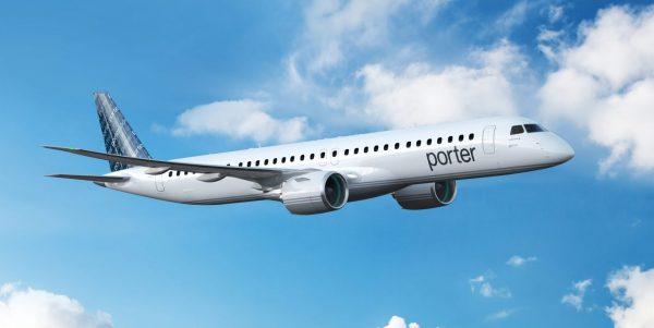 Porter achète ses premiers avions à réaction