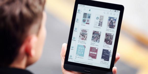 Des liseuses à écran couleur Kaleido, le meilleur des deux mondes?