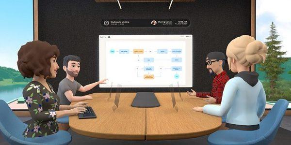 Facebook propose des réunions de travail en réalité augmentée avec Horizon Workrooms