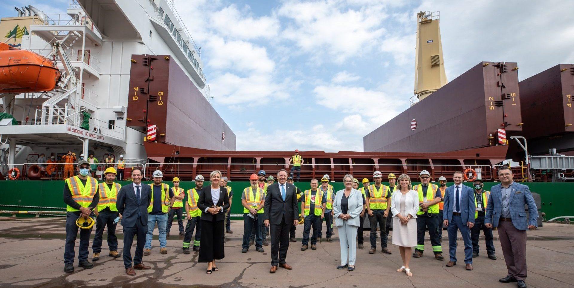 Après le refus de GNL, Legault veut d'autres projets pour le Port de Saguenay
