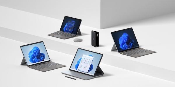 Surface Laptop Studio, Pro 8, Pro X, Go 3: Microsoft veut séduire tous les publics