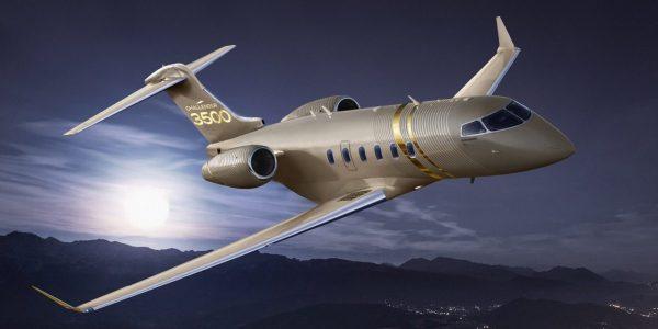Bombardier reçoit une première commande d'un demi-milliard $ pour le Challenger 3500